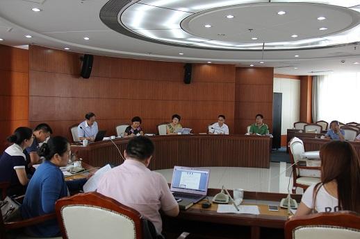 市政府信用办组织召开信用服务机构业务讲评会