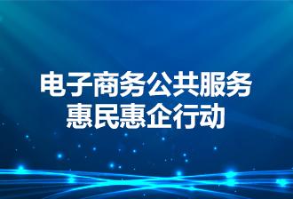 [专题]电子商务公共服务惠民惠企行动